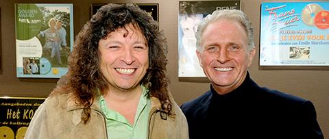 Norus Padidar (link) & Emile Hartkamp (rechts)